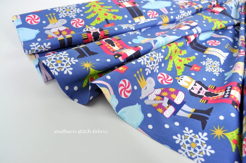 Nutcracker Fabric from Snowflake Waltz by Maude image 0