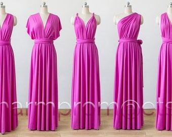 hot pink Maxi Infinity Dress 14e7d4f5c54d