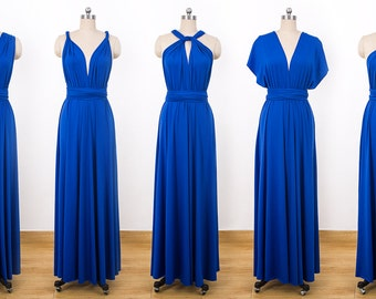 c71434ce74 Royal Blue Maxi Infinity Dress