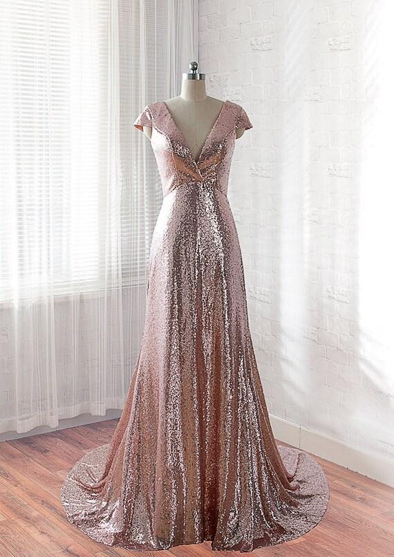 sequins prom dress long evening dress formal dress etsy