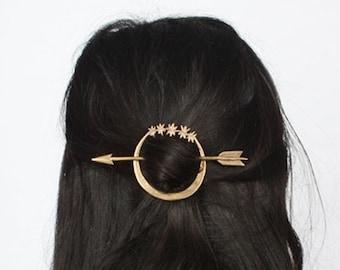 Artemis hair pin