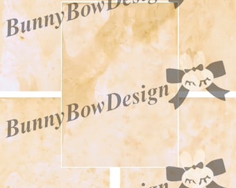 25 Digital Letter Size Coffee Stained Vintage Looking Background Papers - for Personal and Commercial use - BB135