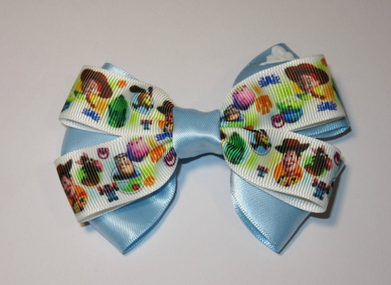 "Grosgrain Toy Story Approx 1"" Wide Woody Jessie Ribbon Buzz Lightyear"