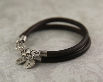 Valentines Day Gift.Anniversary Gifts.Boyfriend gift.Couples bracelet.Couples gift.Leather bracelets.His And Hers Gift.Relationship gift