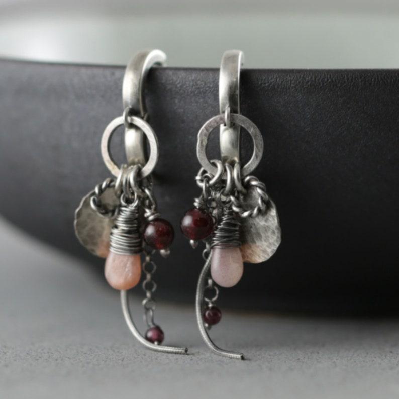 Modern womens gift Romantic earrings Fashion lover gift Gift for women