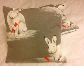 Hungry Bunnies Cushion