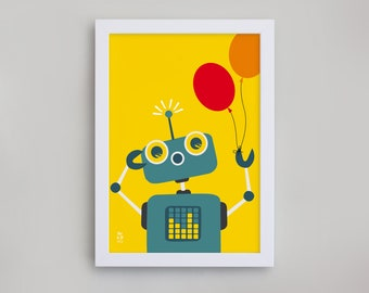 Robot print – can be personalised