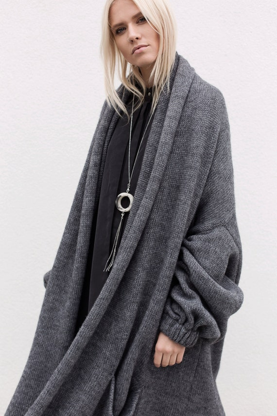 Aesthetic Clothing Cardigan Sweaters For Women Oversized
