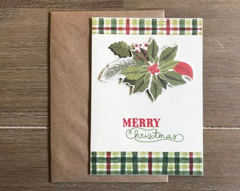 merry christmas greeting card christmas boyfriend or family gift new year postcard long distance relationship gift scrapbook card trend