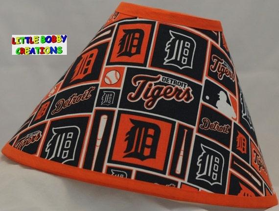 Baseball Mlb Detroit Tigers Fabric Lamp Shade 10 Sizes To