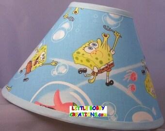 Pokemon cartoon fabric lamp shade 10 sizes to choose from sponge bob spongebob fabric lamp shade 10 sizes to choose from aloadofball Choice Image