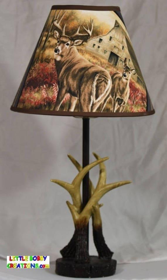 Mossy Oak Antler Lamp Amp Deer Lamp Shade 23 Tall