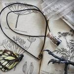 Mandragora . necklace phial powder mandrake roots & incense necklace witchcraft pagan magic .