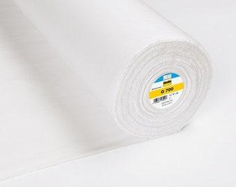 G 700 Bügelvlies von Freudenberg reine Baumwolle weiß 1 Meter Vlies Kleber Vlieseline Bügeleinlage