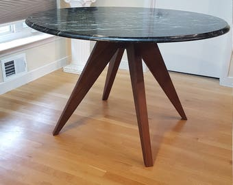 Quick View. Modern Walnut Table Base For ...