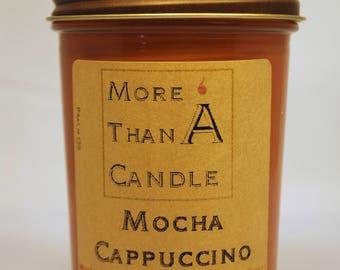 8 oz Mocha Cappuccino Soy Candle