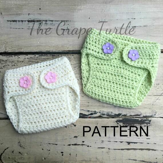 Crochet Diaper Cover PATTERN Etsy Fascinating Crochet Diaper Cover Pattern