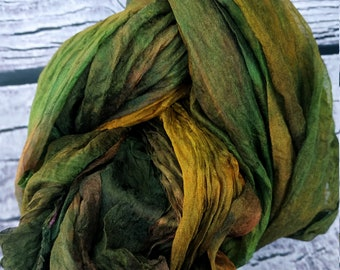 Pure 100/% Silk gauze margelan hand dyeing made in Uzbekistan width 27 inch silk for felting price for 2 meters for nunofelting G254