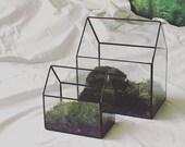 Glass House Terrarium - Large Greenhouse Terrarium Geometric Terrarium Minimalist Terrarium