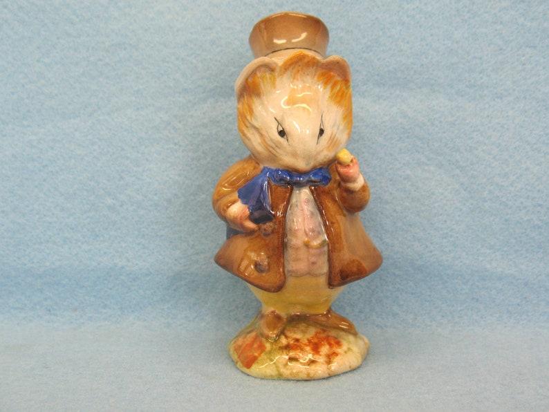 Pottery Beswick Beatrix Potter Figure Amiable Guinea Pig Excellent Condition