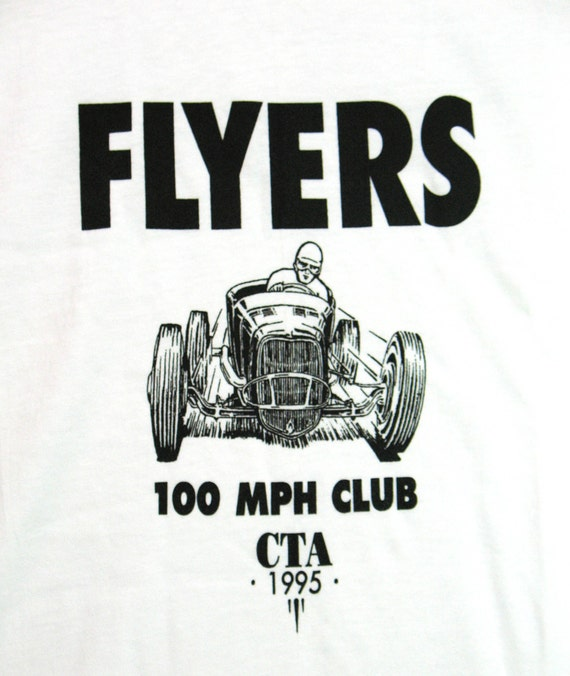 old school t shirt flyers 100 mph club cta hot rod t shirt etsy 1950 Chevy Coupe Hot Rod image