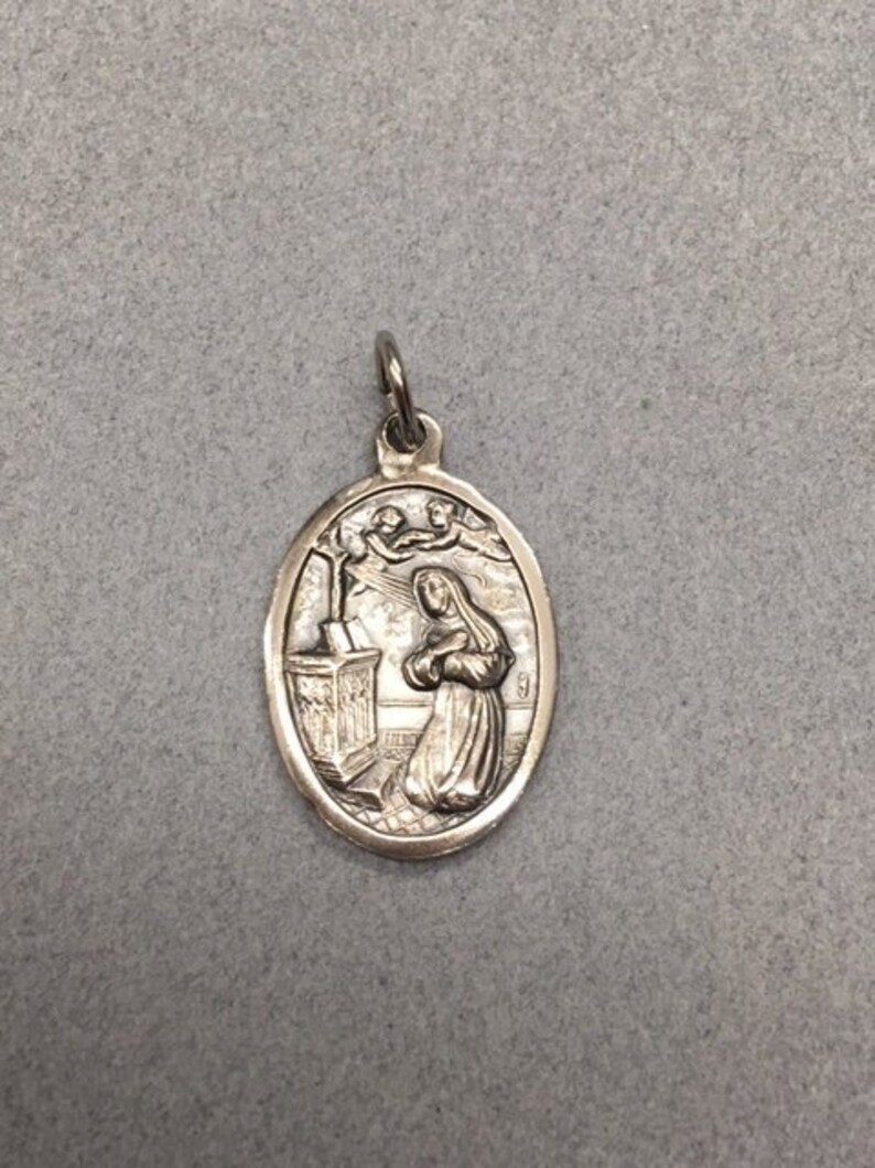 St Jude Black Cord Necklace Protection Saint Medal Pendant Charm Religious Gift