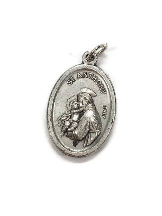 Catholic Medal Saint Anthony Of Padua Lost And Stolen Articles Etsy