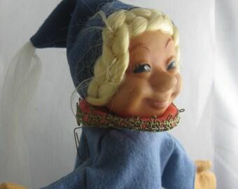 Alte Steiff Handpuppe Prinzessin Steiff
