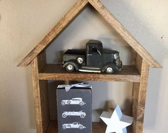 Classic Cars - Father's Day 4x6 Wood Block