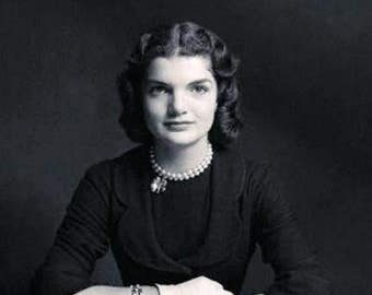 Jackie Kennedy taken in the late 1940's