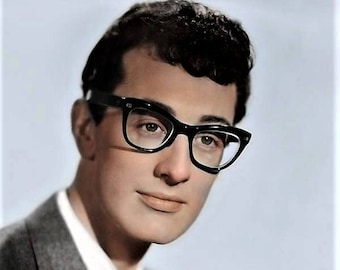 Buddy Holly in a nice color in the late 1950's