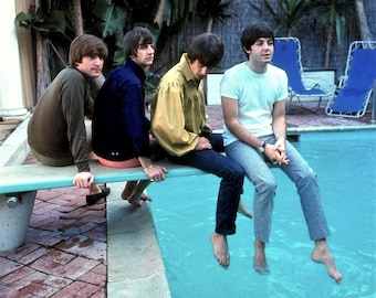 The Beatles Publicity photo featuring the legendary British band # 2