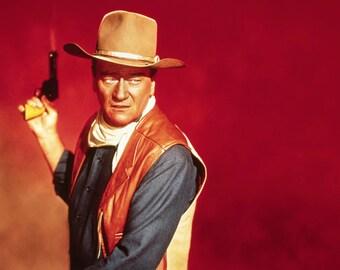 Great Print of John Wayne from the film el dorado