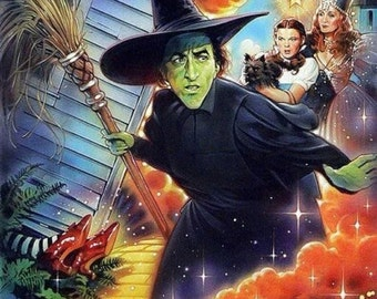 Wizard of Oz  Color Print