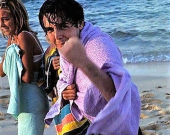 Paul McCartney on the beach