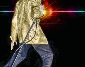 Elvis Presley - Elvis on stage in Toronto, April 2, 1957, # 2