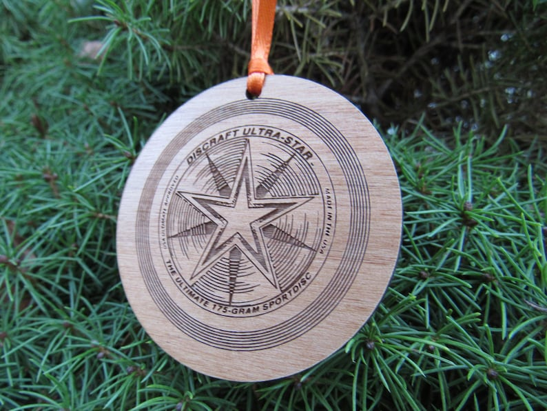 2101589c5a662 Ultimate Frisbee Ornament