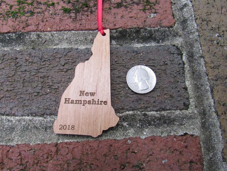 New Hampshire State Ornament