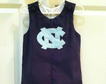 Baby Boy's North Carolina Tar Heels Longall