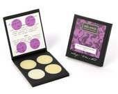Fruit Notes: Melange Solid Perfume Blending Palette. Four hand-poured perfumes. Wear alone or layer. CRUELTY FREE