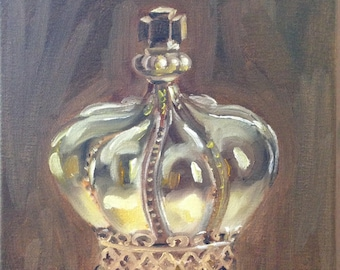 Original Painting.  OOAK.  A Crown