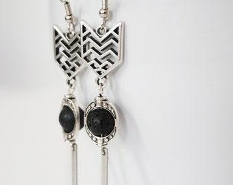 Gallup earrings.