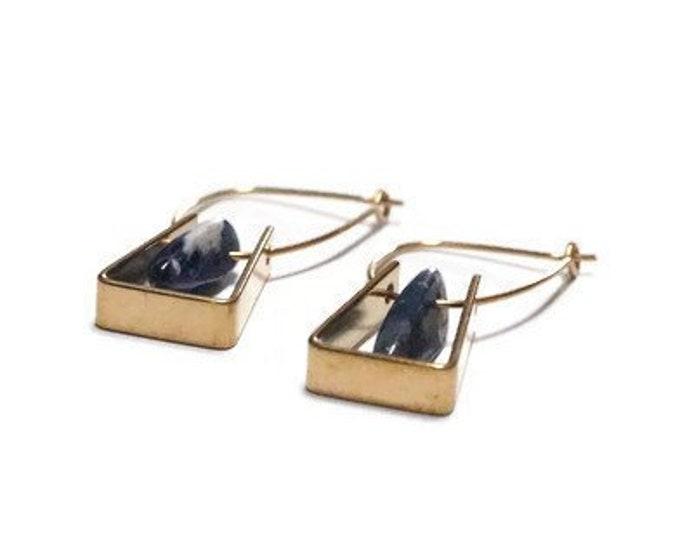 PADANG Gold Earrings.
