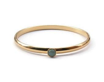 Hopi Gold Bracelet.