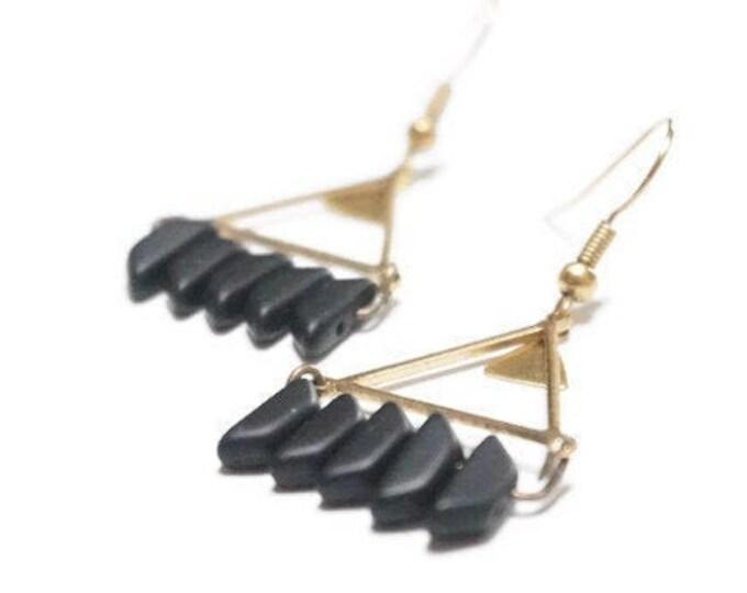 PADANG DUO Gold Earrings.