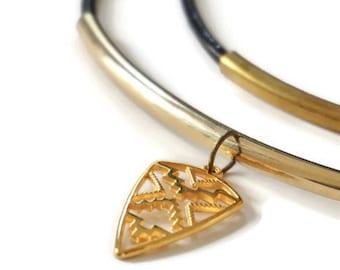 Tavoy Gold necklace.