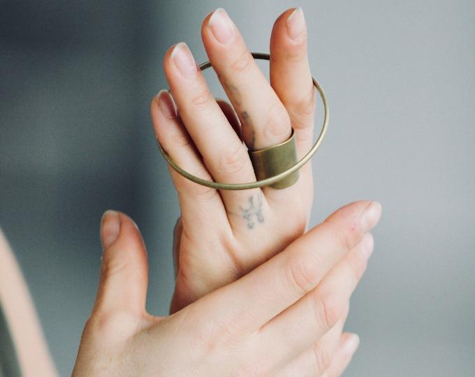 Giraffe bracelet.