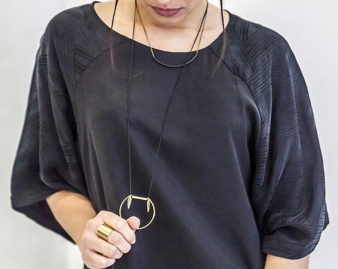 SAGO double necklace.