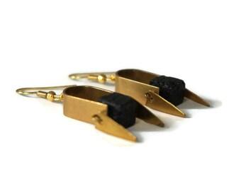 Sioux earrings.