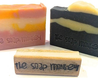 Business Logo Soap Stamp